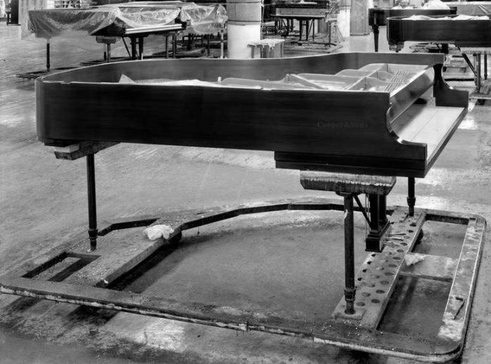 """库珀钢琴,光环中的""""德国制造"""""""
